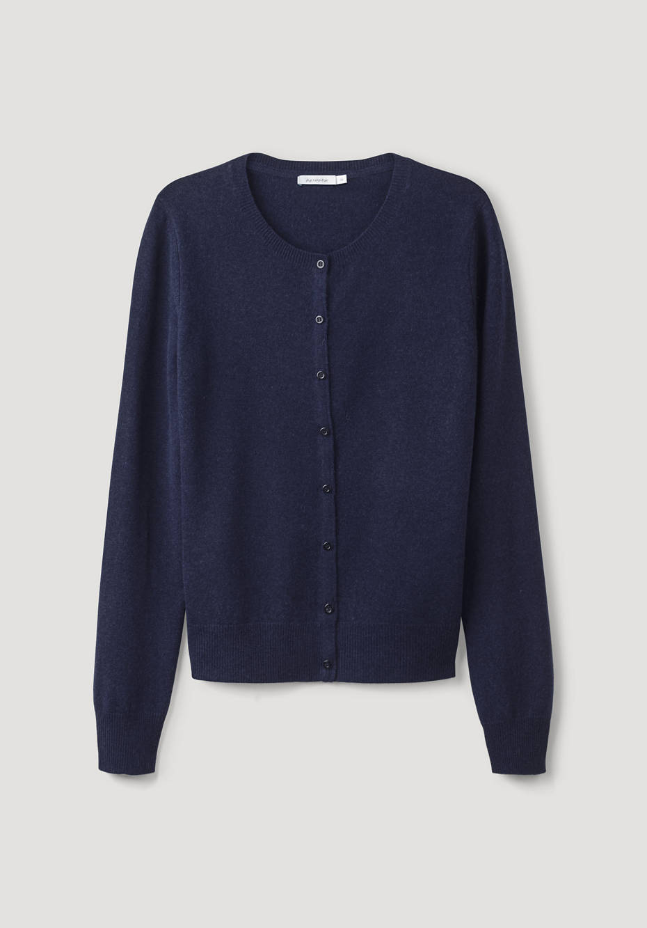 Cardigan made of virgin wool with cashmere