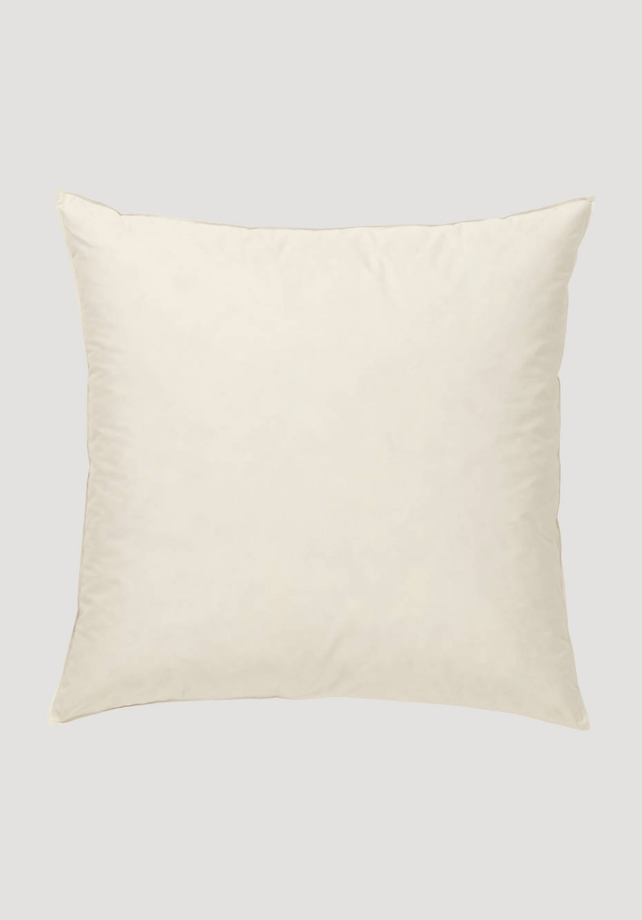 Classic pillow with feathers and down