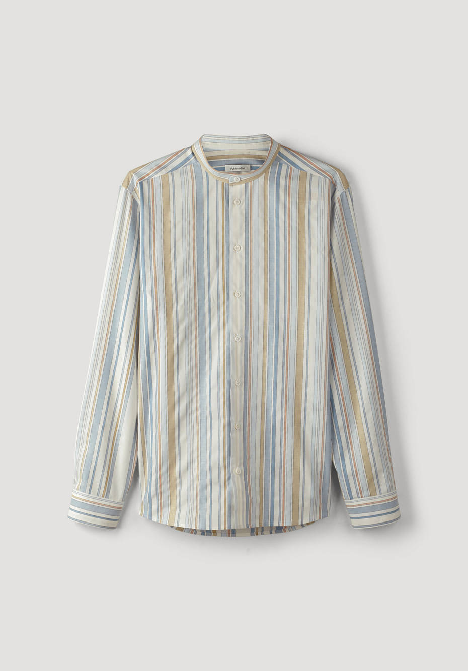 Comfort Fit striped shirt made of pure organic cotton