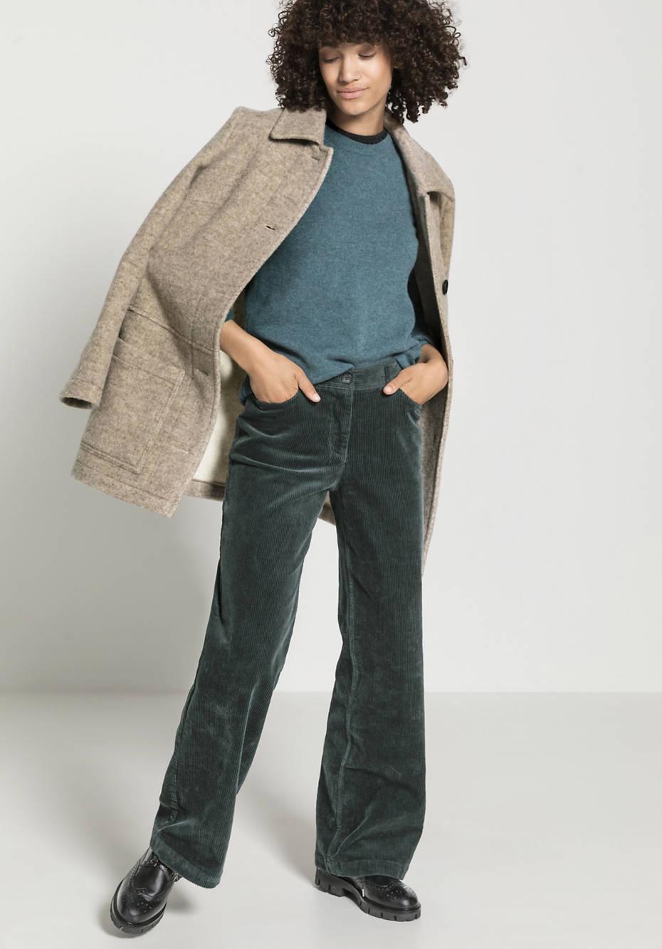 Cord Hose aus Bio-Baumwolle