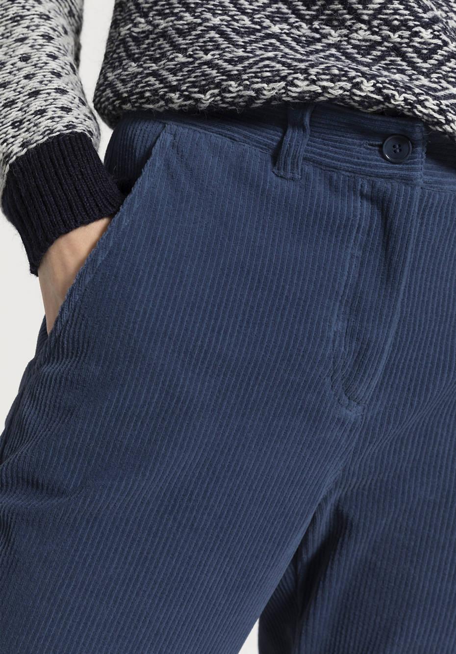 Cord-Hose aus reiner Bio-Baumwolle