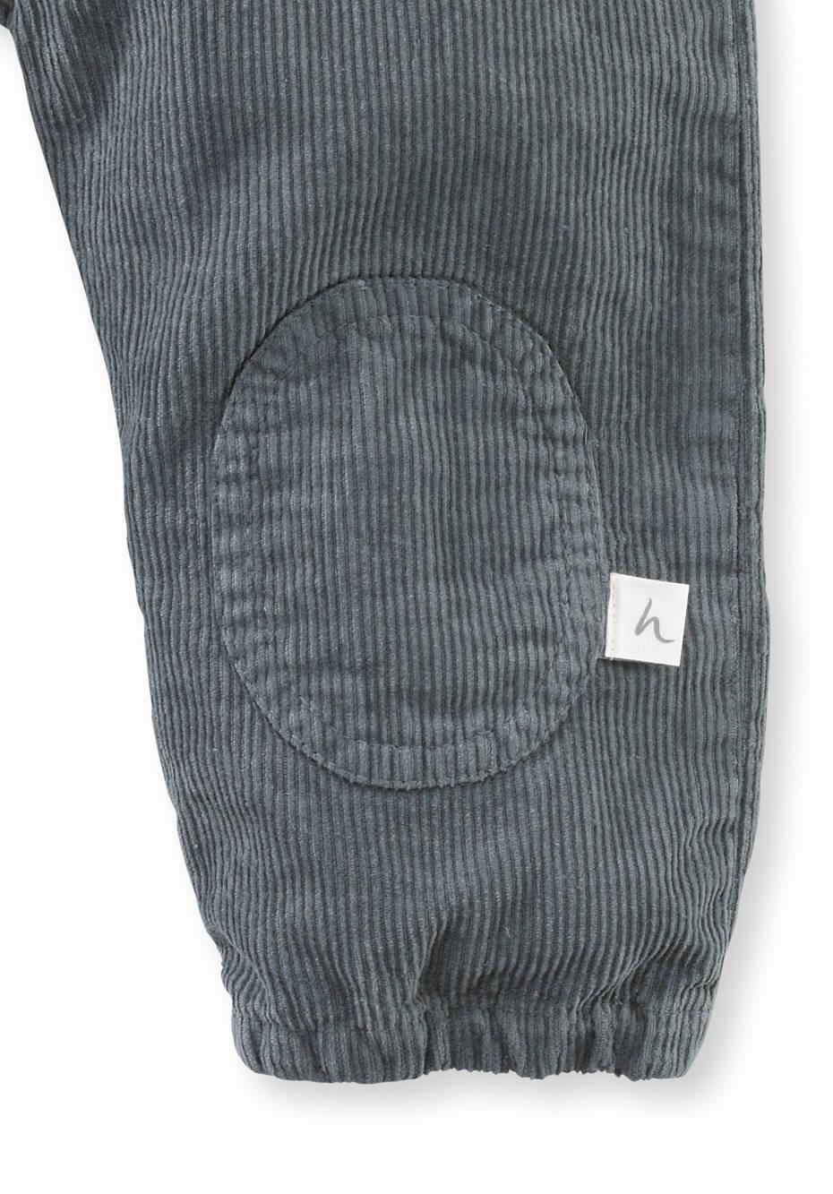 Cord Latzhose aus Hanf und Bio-Baumwolle