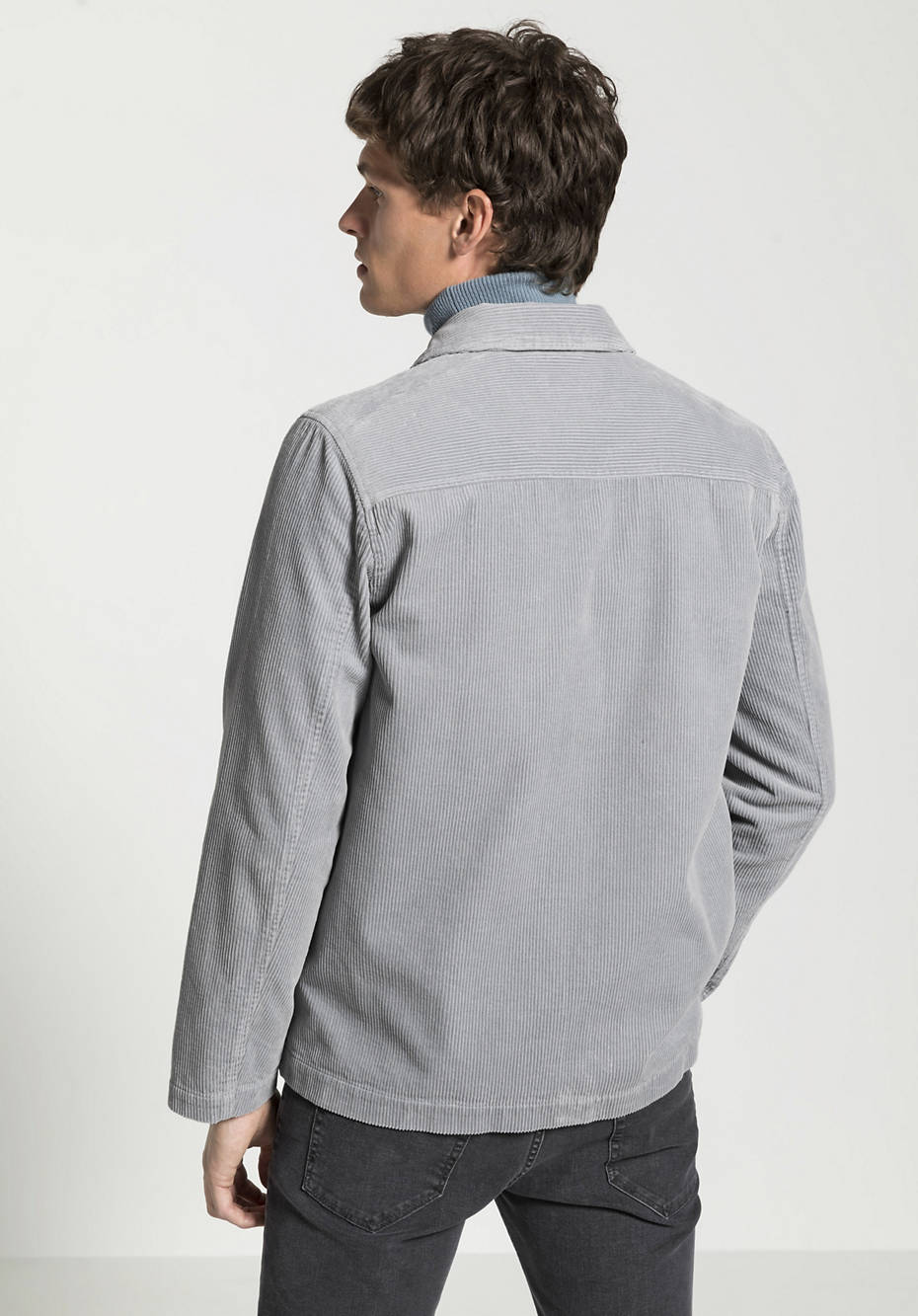 Cord jacket made from pure organic cotton