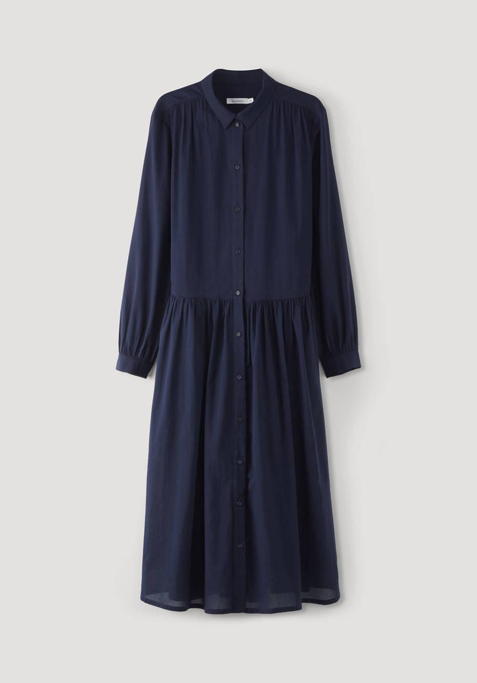 Crêpe-Kleid aus reiner Bio-Baumwolle