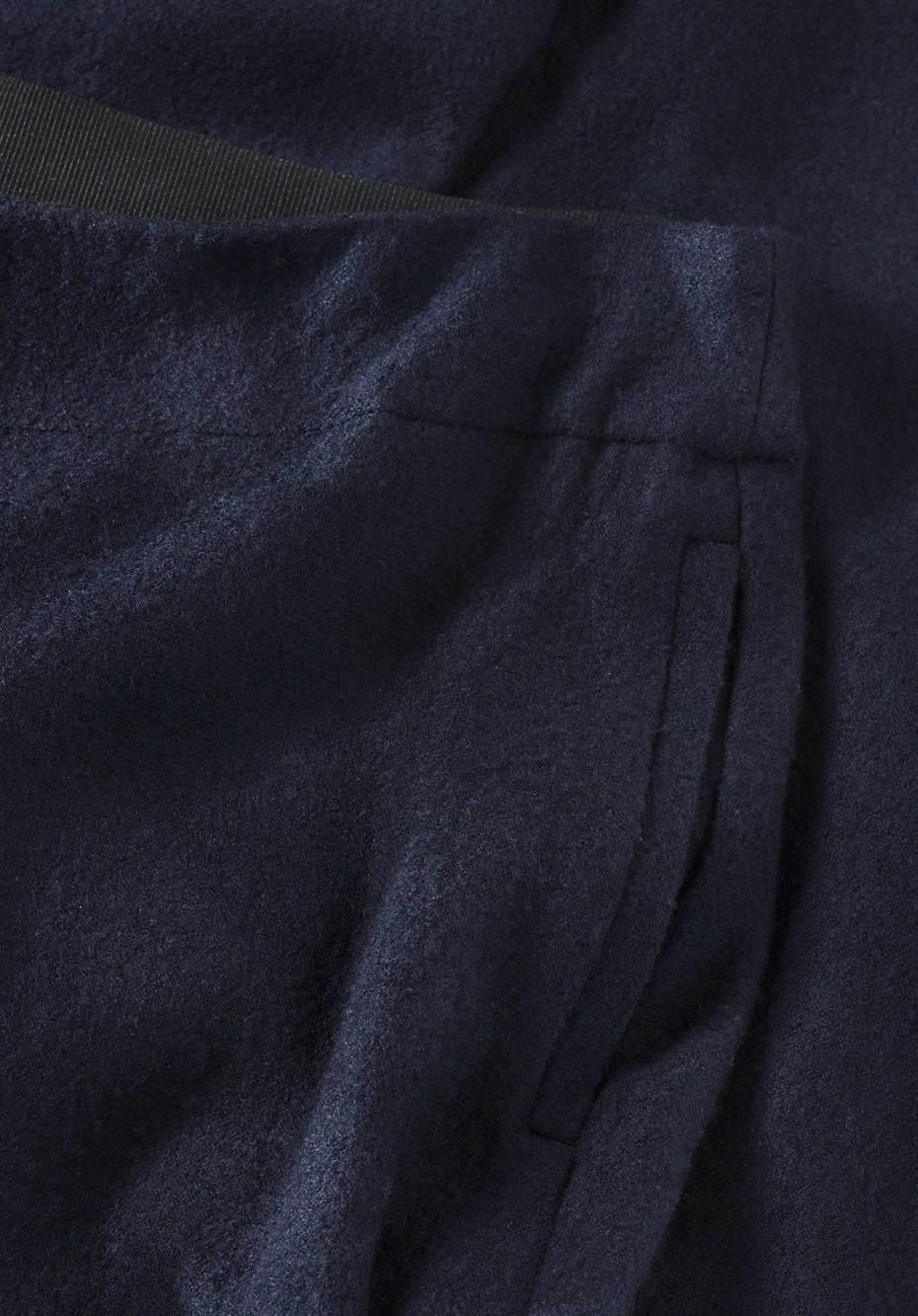 Culotte aus reiner Schurwolle