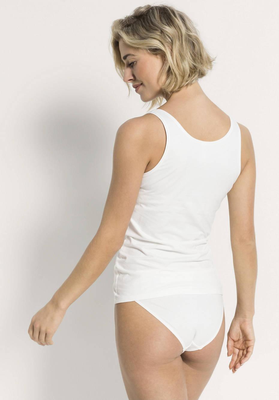 Damen Achselshirt aus Bio-Baumwolle