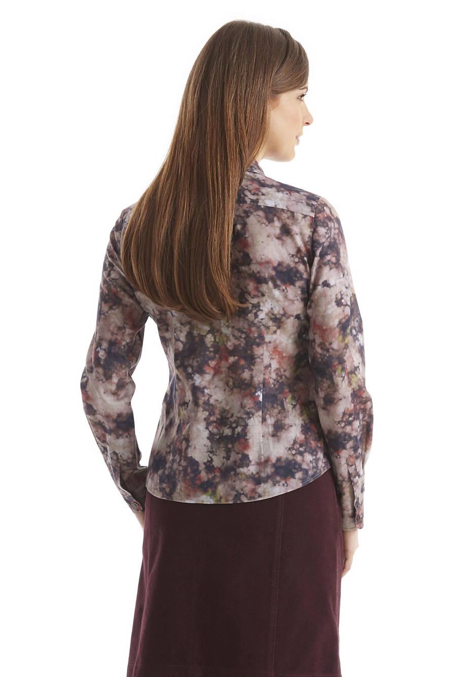 Damen Bluse aus reiner Bio-Baumwolle