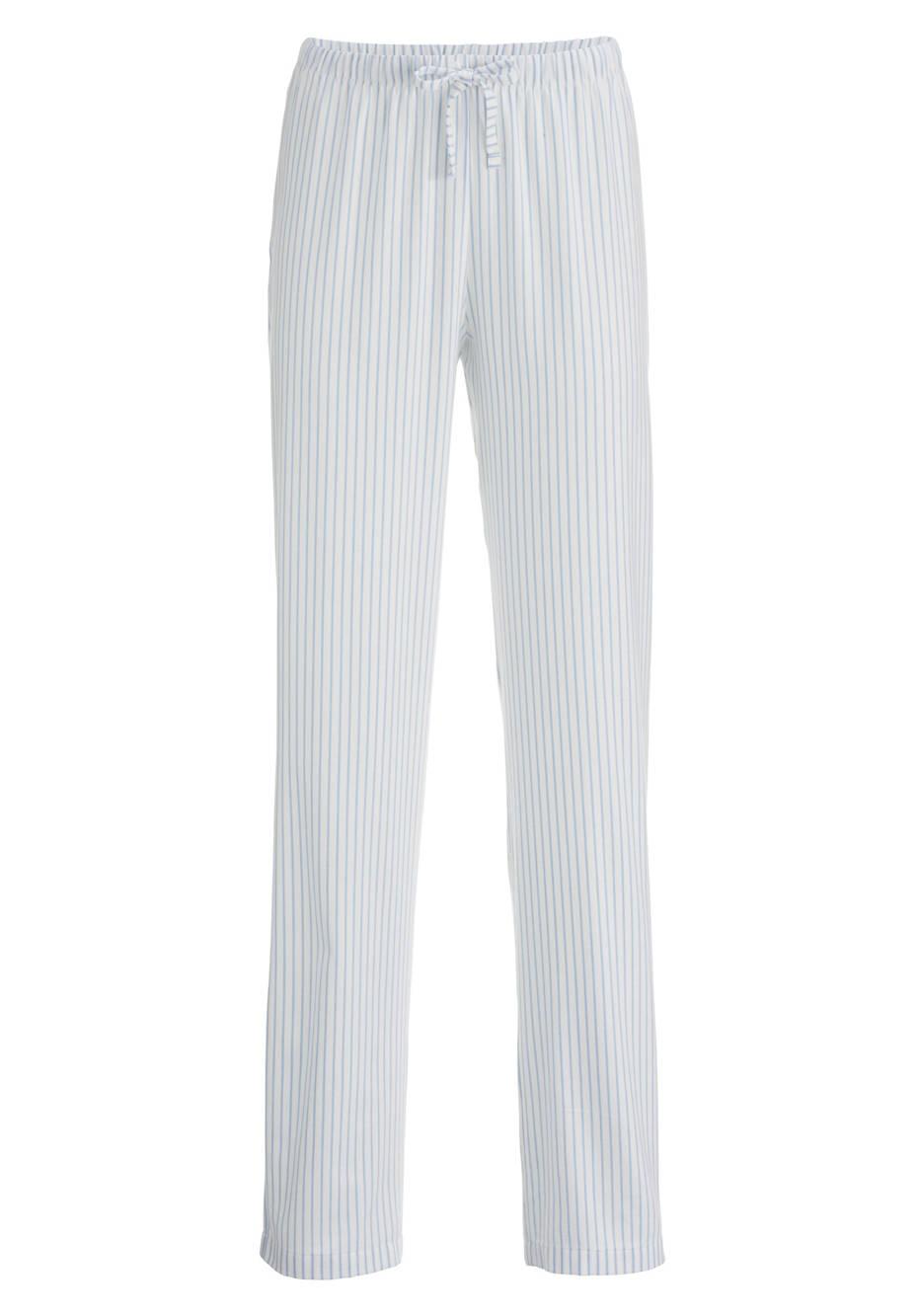 Damen Flanell-Pyjamahose aus reiner Bio-Baumwolle