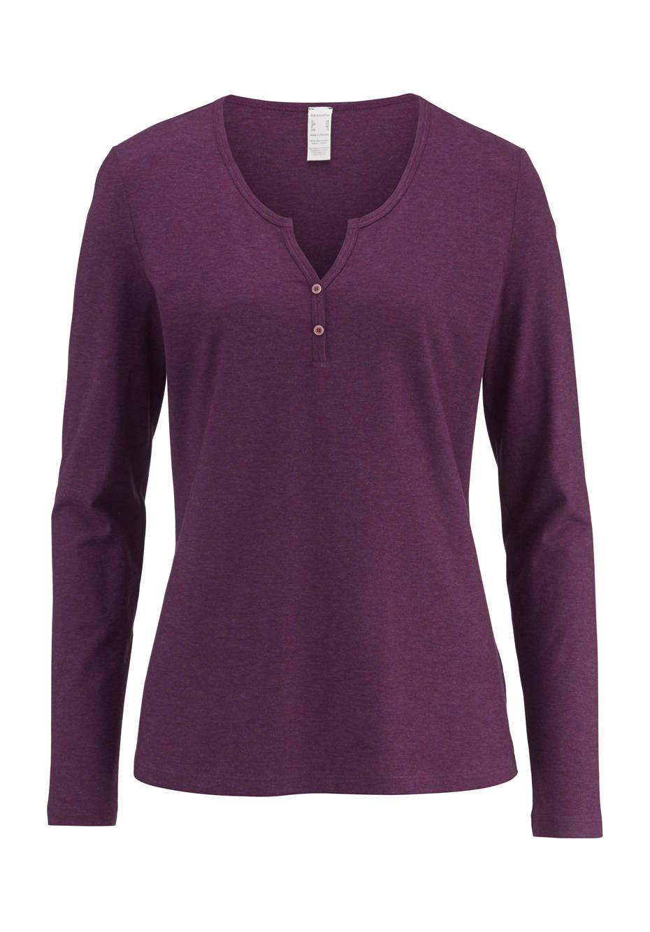 newest collection 9fa1d 4477f Damen Langarm-Shirt aus reiner Bio-Baumwolle
