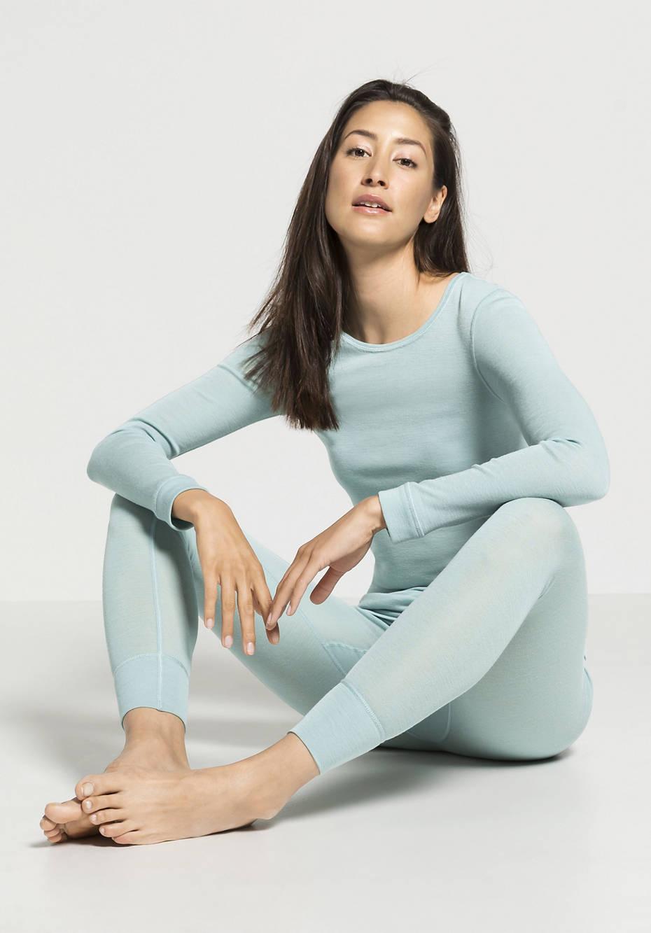 Damen Lange Pants PureWOOL aus reiner Bio-Merinowolle