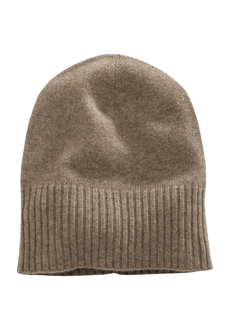 Damen Mütze aus reiner Yak-Wolle