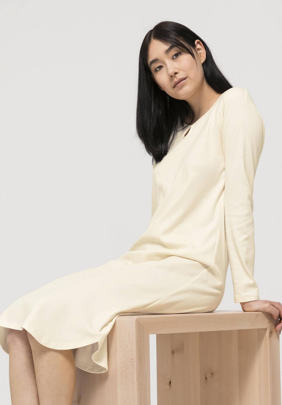 Damen Nachthemd ModernNATURE aus reiner Bio-Baumwolle