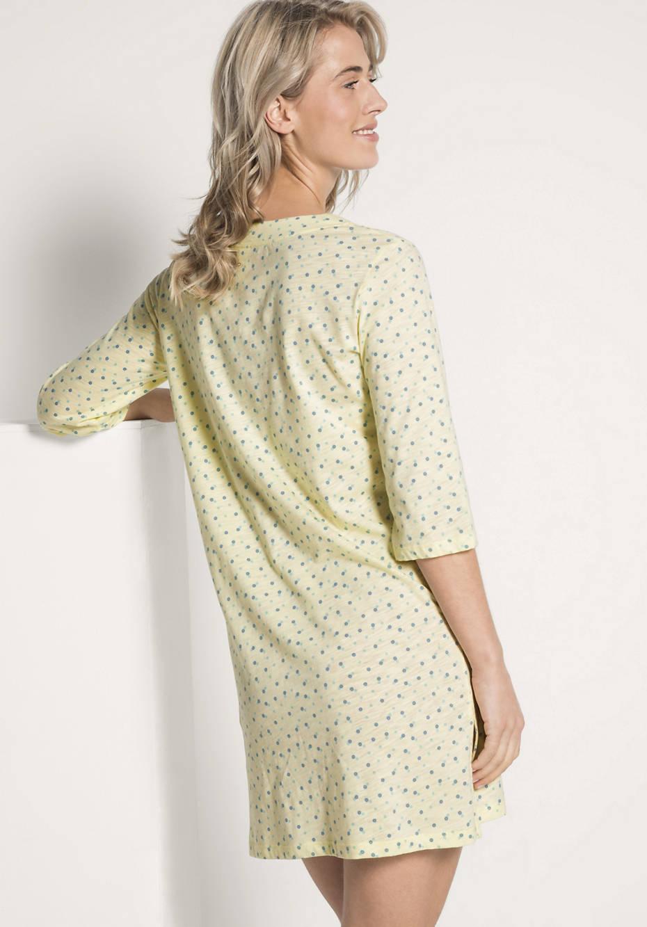 separation shoes f180f b9b84 Damen Nachthemd aus reiner Bio-Baumwolle