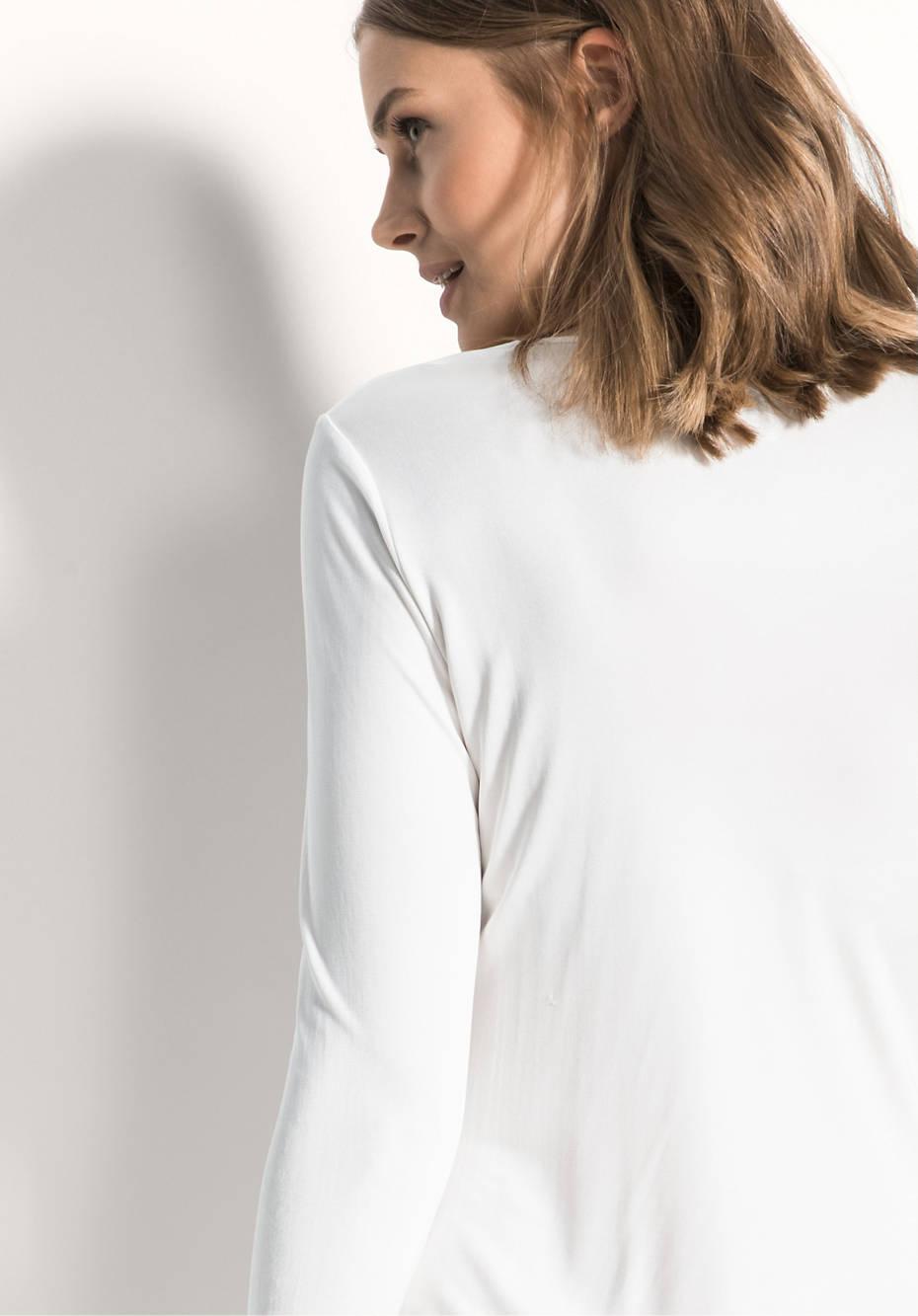 Damen Nachthemd aus reiner Bio-Seide