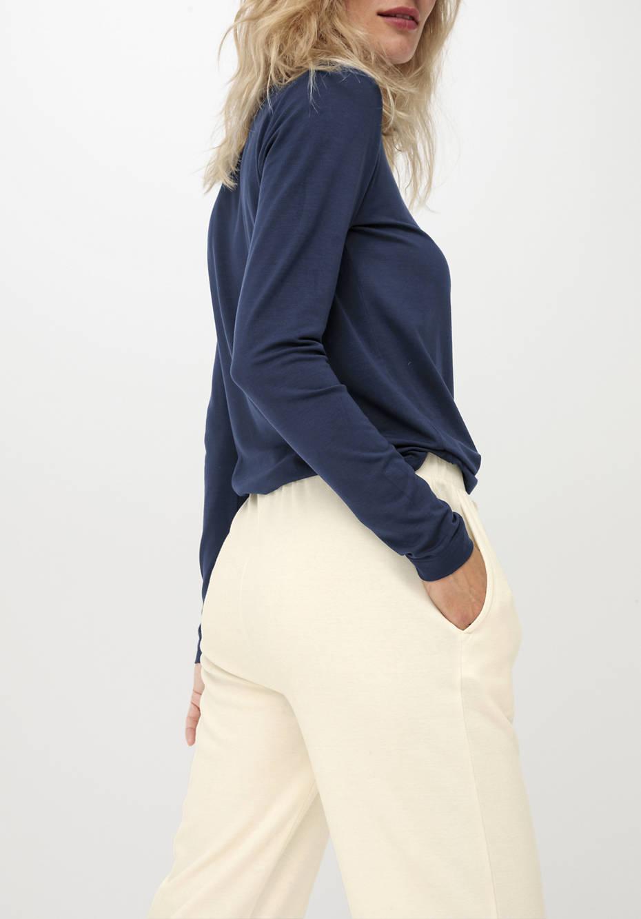 Damen Schlafhose ModernNATURE aus reiner Bio-Baumwolle