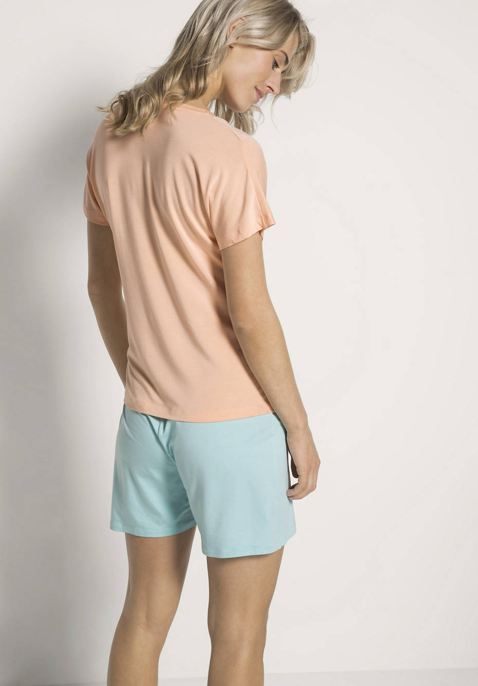 new product 93f59 7e2e7 Damen Schlafshirt aus Modal