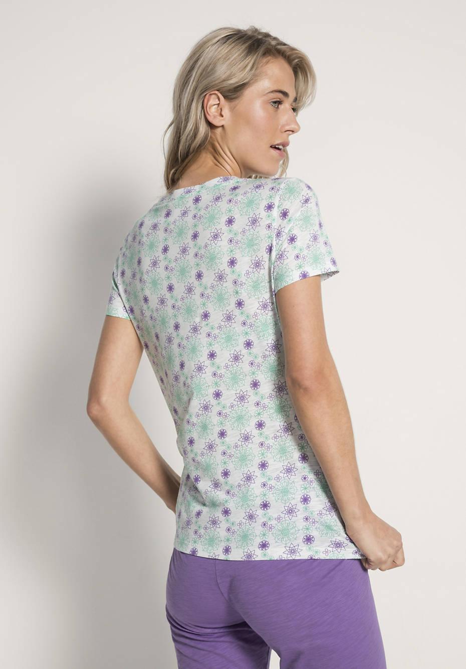 sale retailer b9dd1 39eaf Damen Schlafshirt aus reiner Bio-Baumwolle
