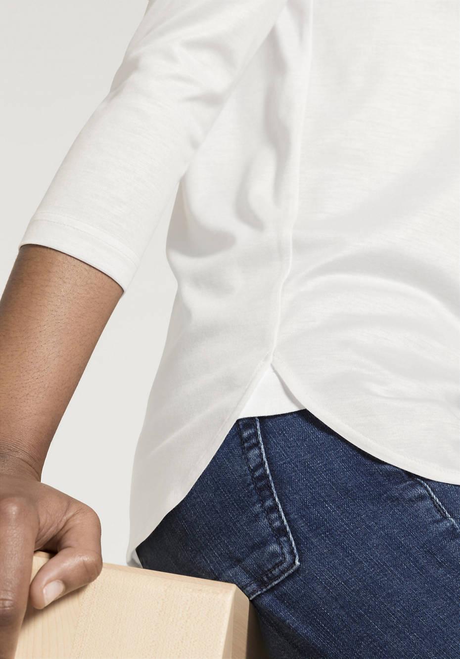 Damen Shirt aus Modal mit SeaCell