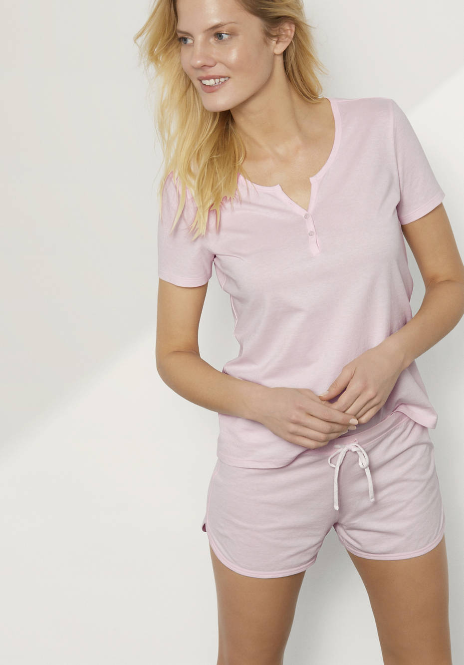 Damen Shorts aus reiner Bio-Baumwolle