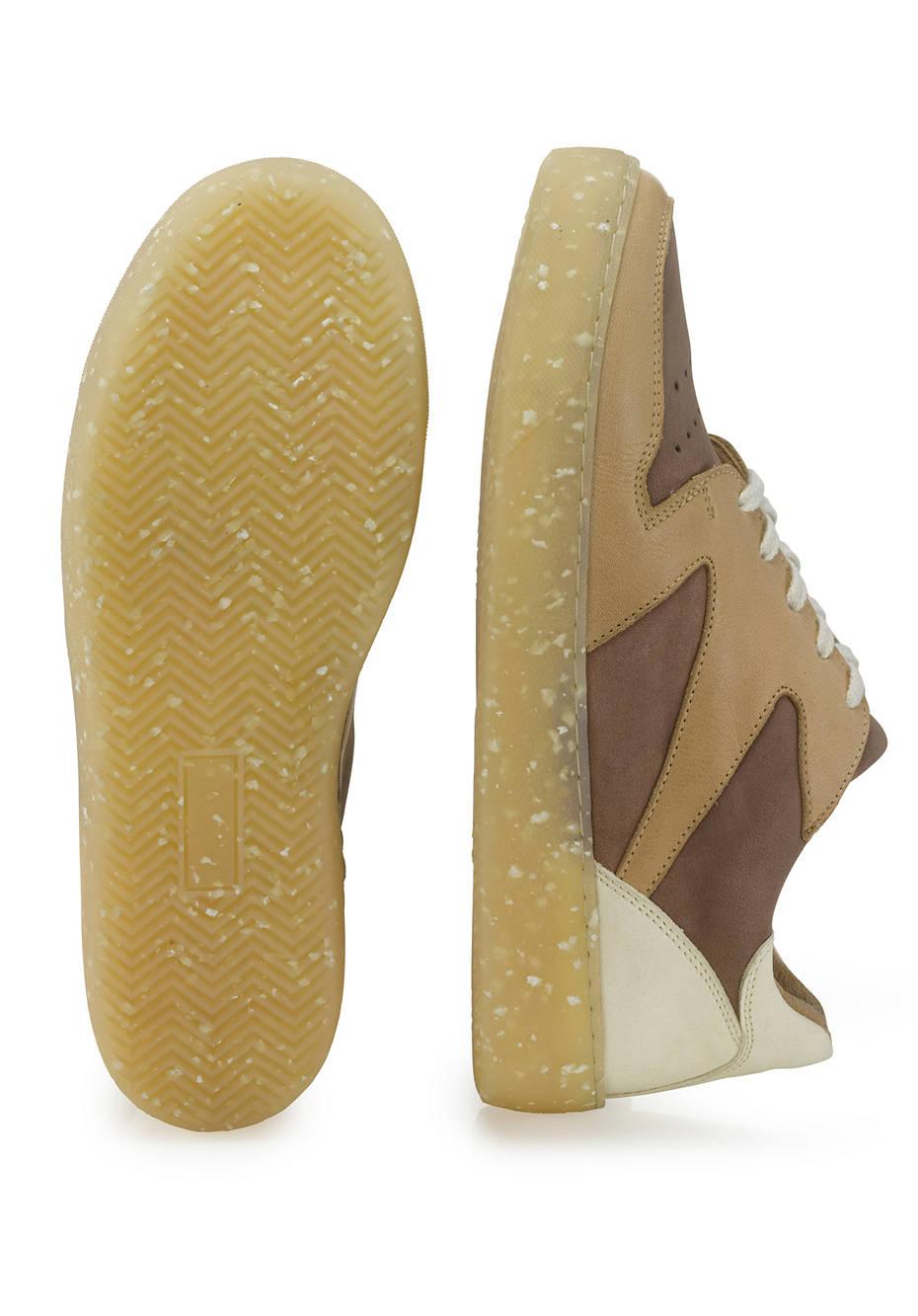 Damen Sneaker aus chromfrei gegerbtem Leder