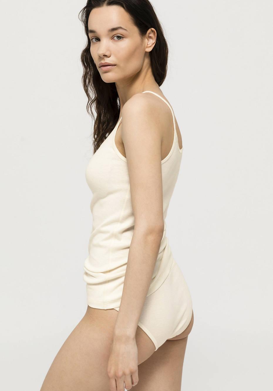 Damen Spagetti-Top ModernNATURE aus reiner Bio-Baumwolle