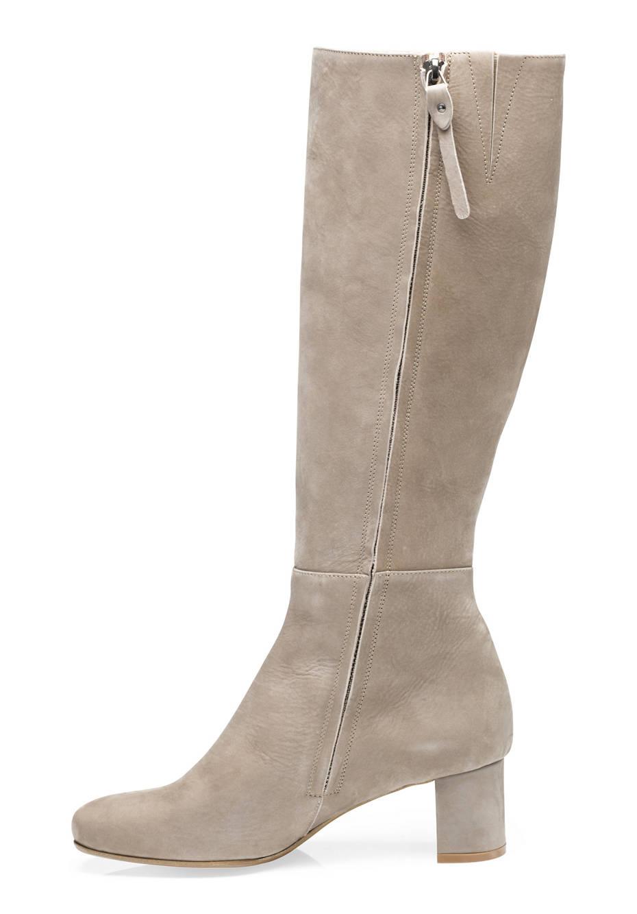 Damen Stiefel aus Leder