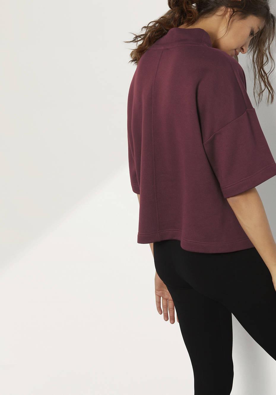 Damen Sweatshirt aus Modal mit Bio-Baumwolle