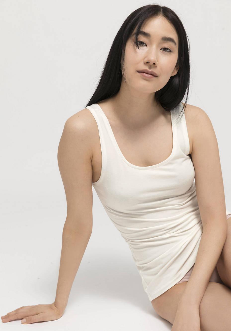 Damen Top aus Bio-Baumwolle und TENCEL™Modal