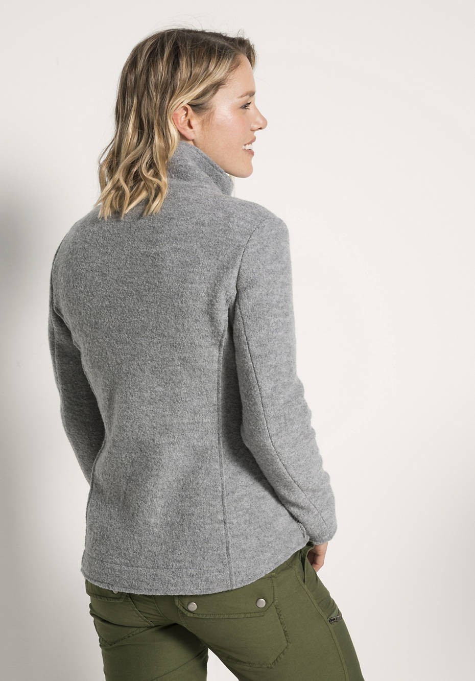 Damen Walkjacke aus reiner Schurwolle