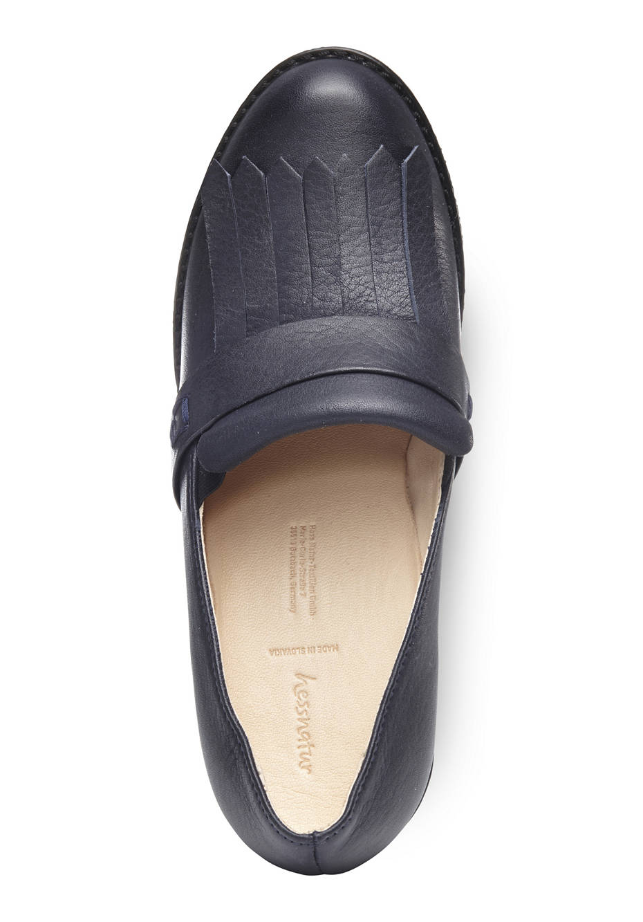 Damen Wedge-Slipper aus Leder