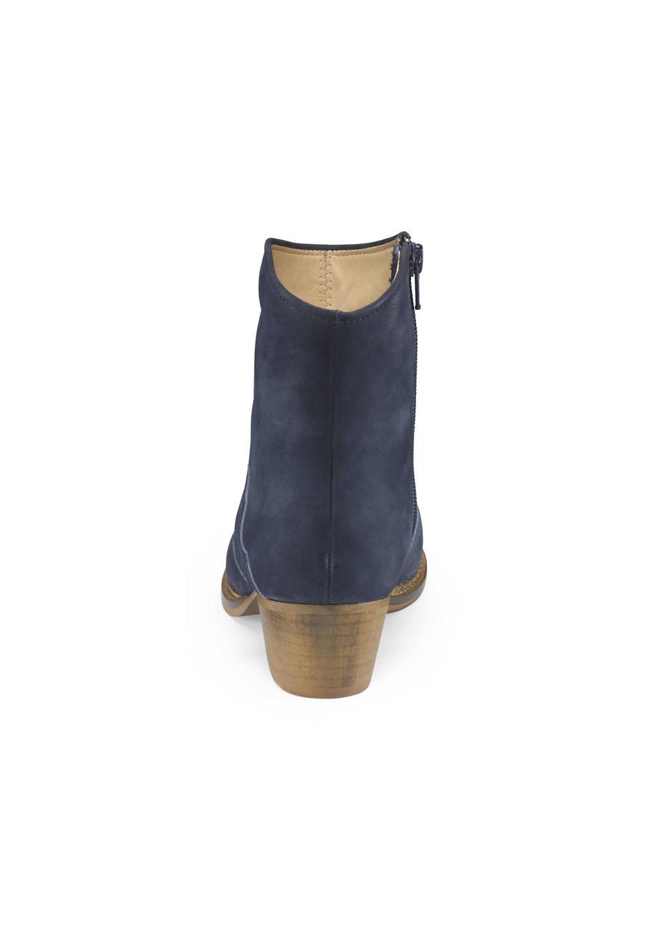 Damen Western-Stiefelette aus Leder