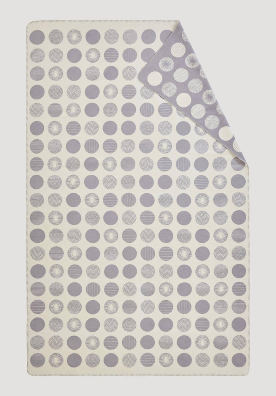 Decke Punto aus reiner Bio-Baumwolle