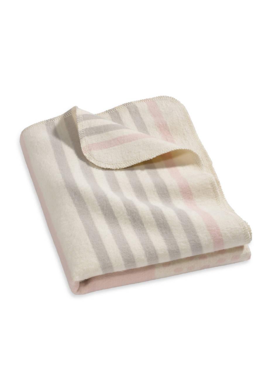 Decke aus reiner Bio-Baumwolle