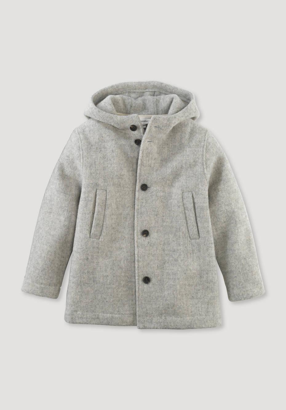 Deichschaf jacket made of pure new wool