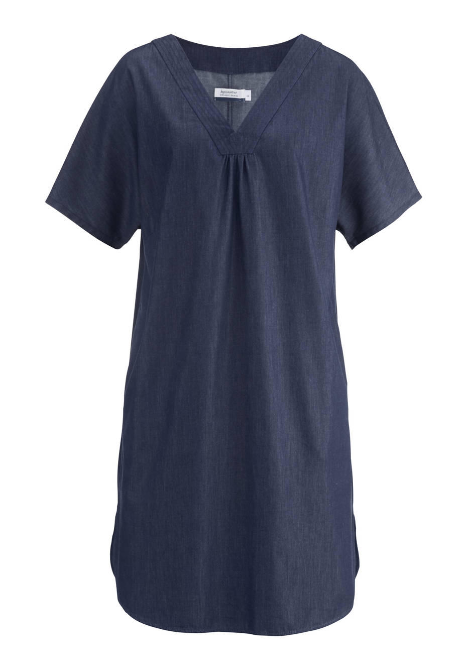 Denim dress made from pure organic denim