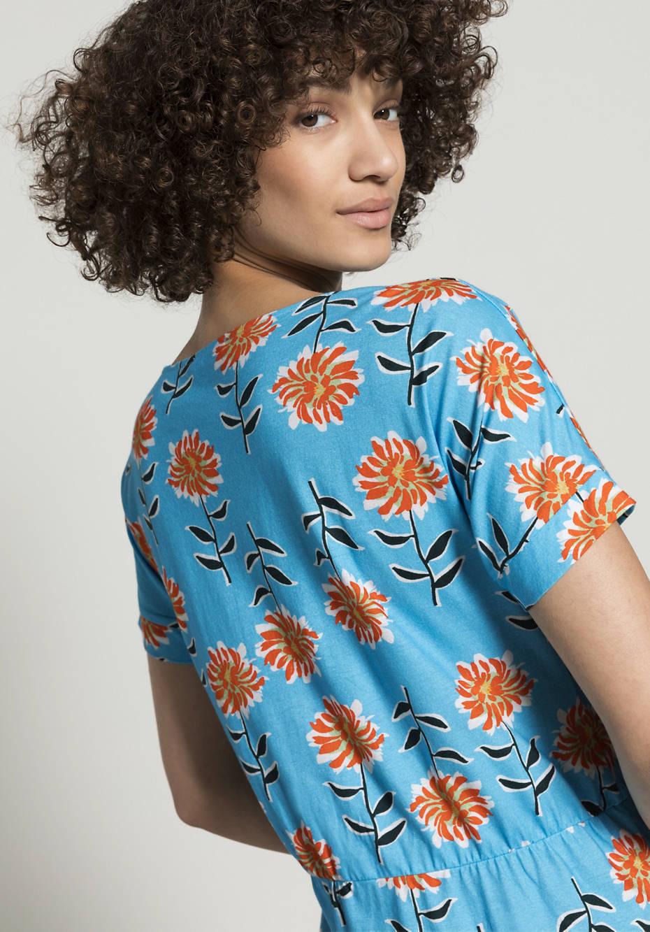 Dress made of pure organic cotton