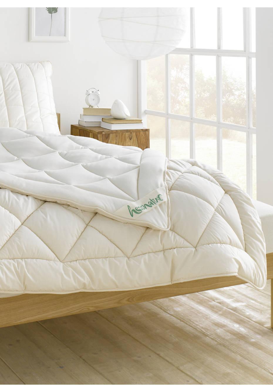 Duo-Bettdecke Bio-Schurwolle zum Wenden