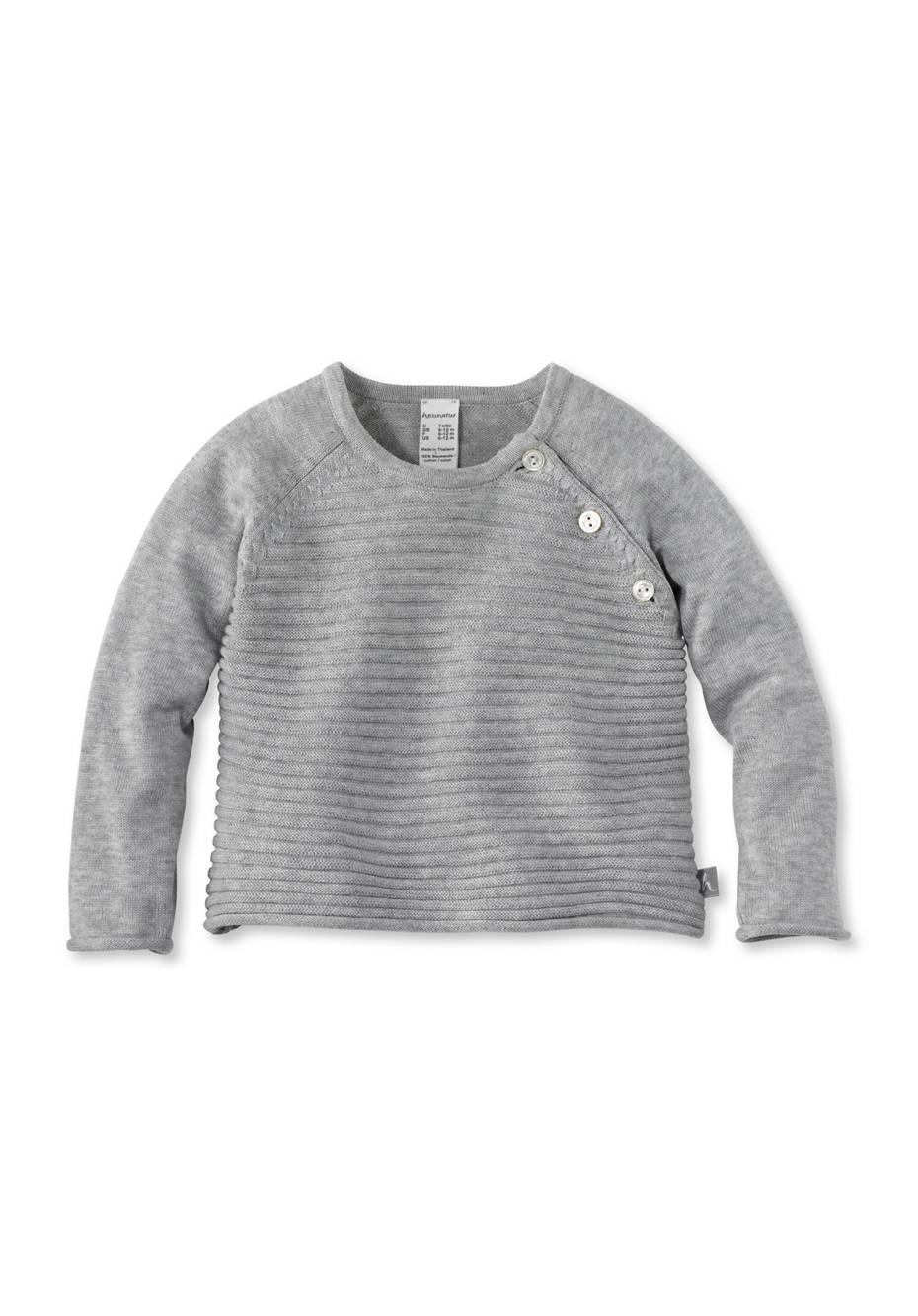 Feinstrick Pullover aus reiner Bio-Baumwolle