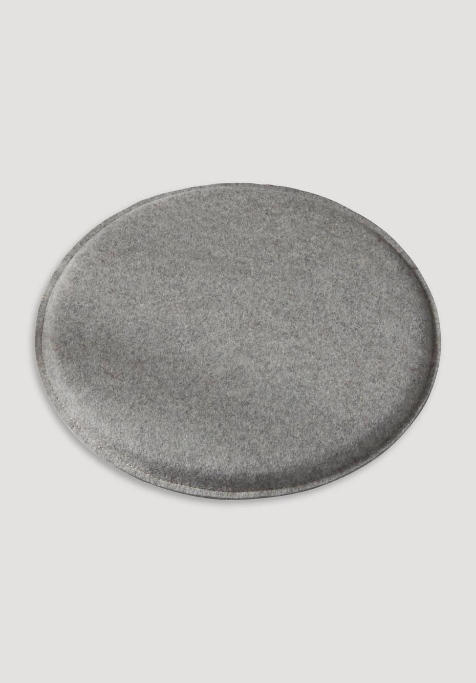 Filzkissen rund aus Schurwolle