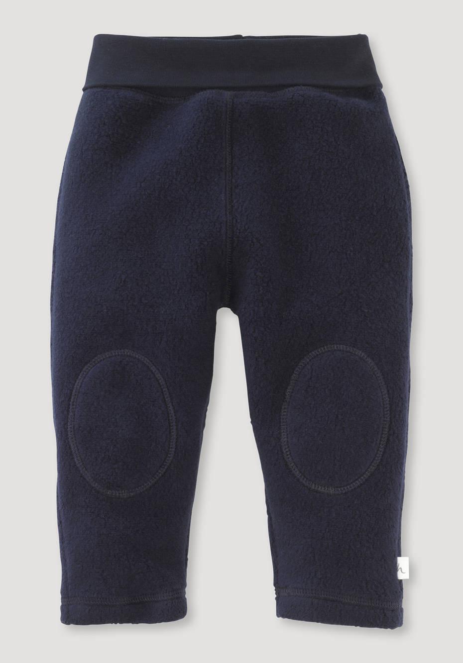 Fleece Hose aus reiner Bio-Baumwolle
