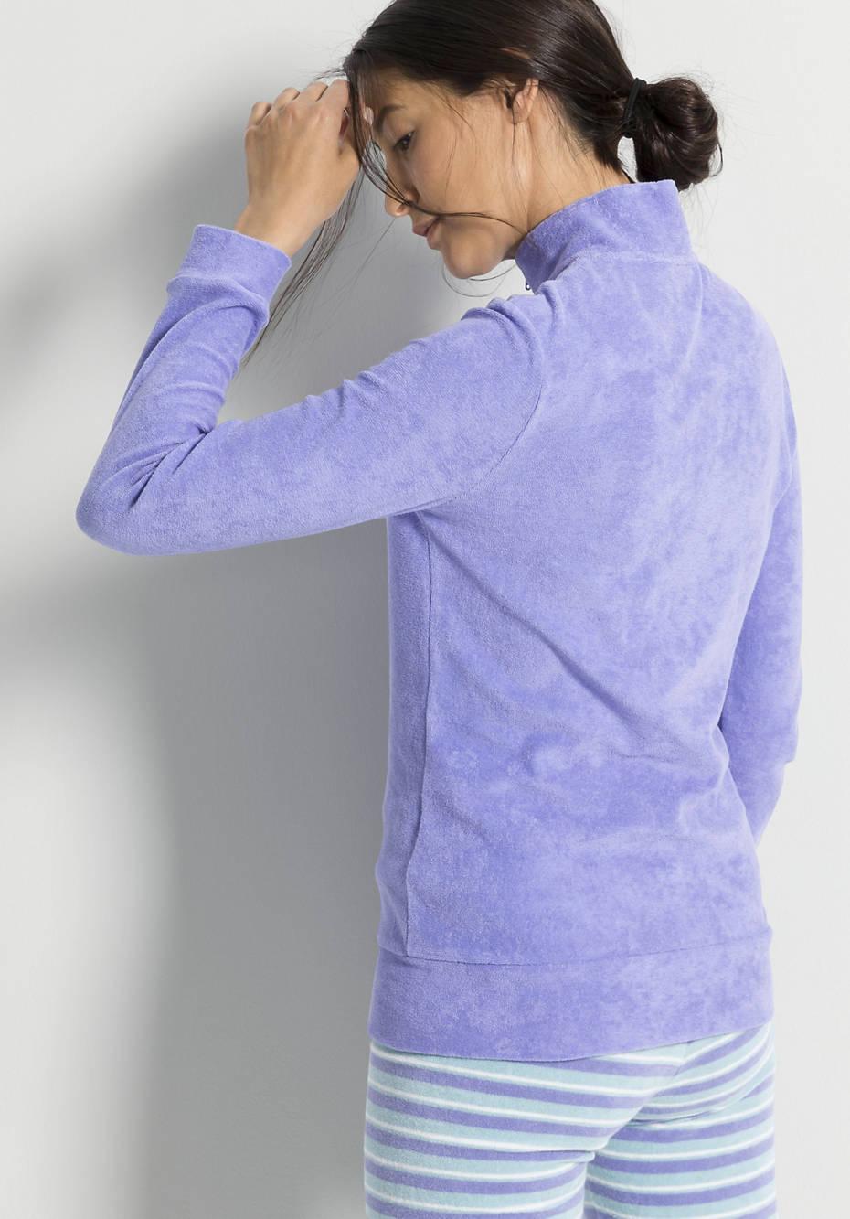 Frottee-Jacke aus reiner Bio-Baumwolle