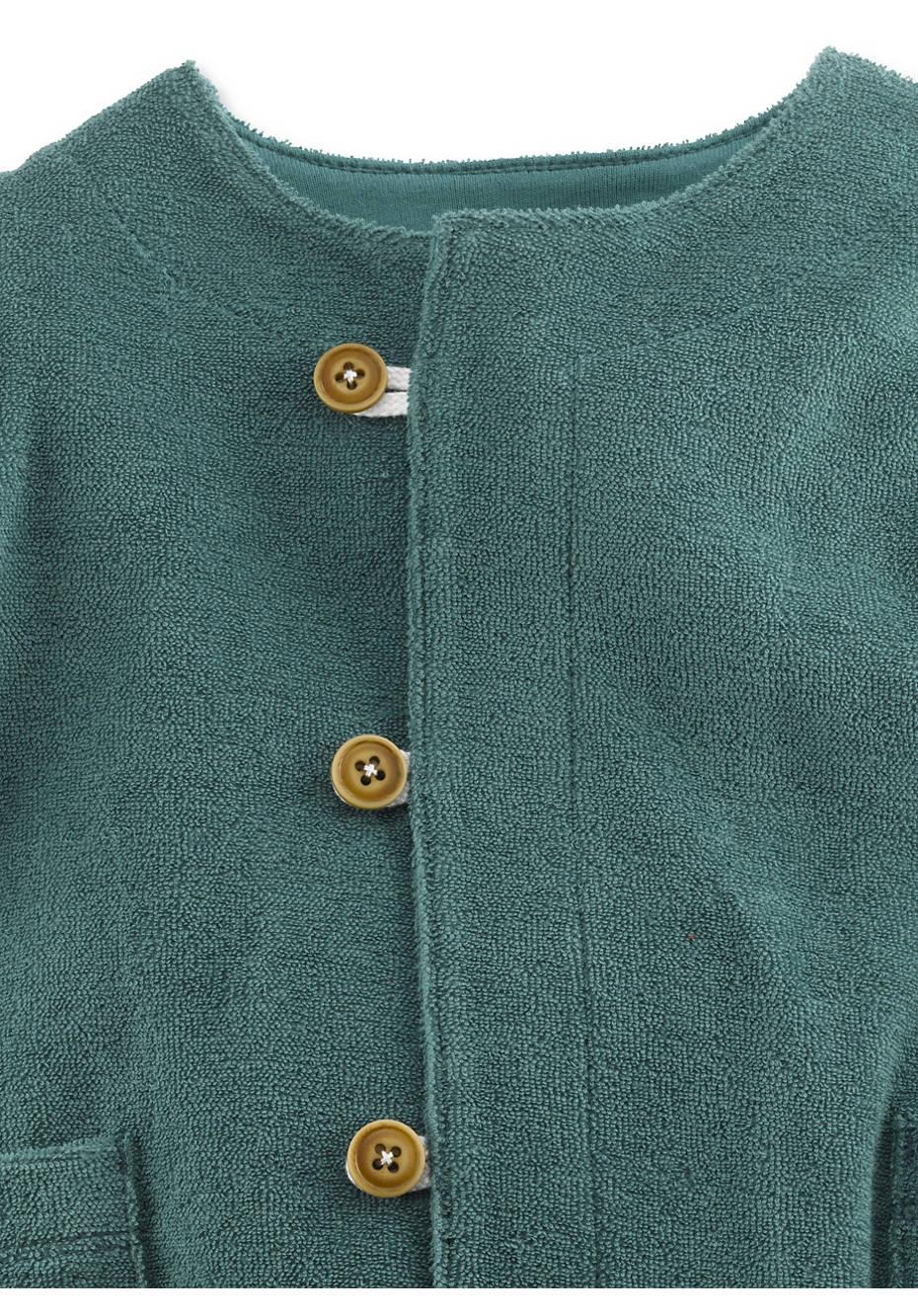 Frottee Jacke aus reiner Bio-Baumwolle