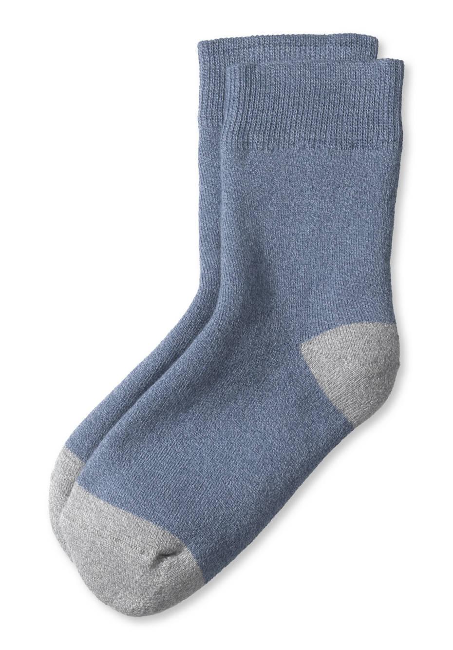 Frottee-Socke aus Bio-Baumwolle
