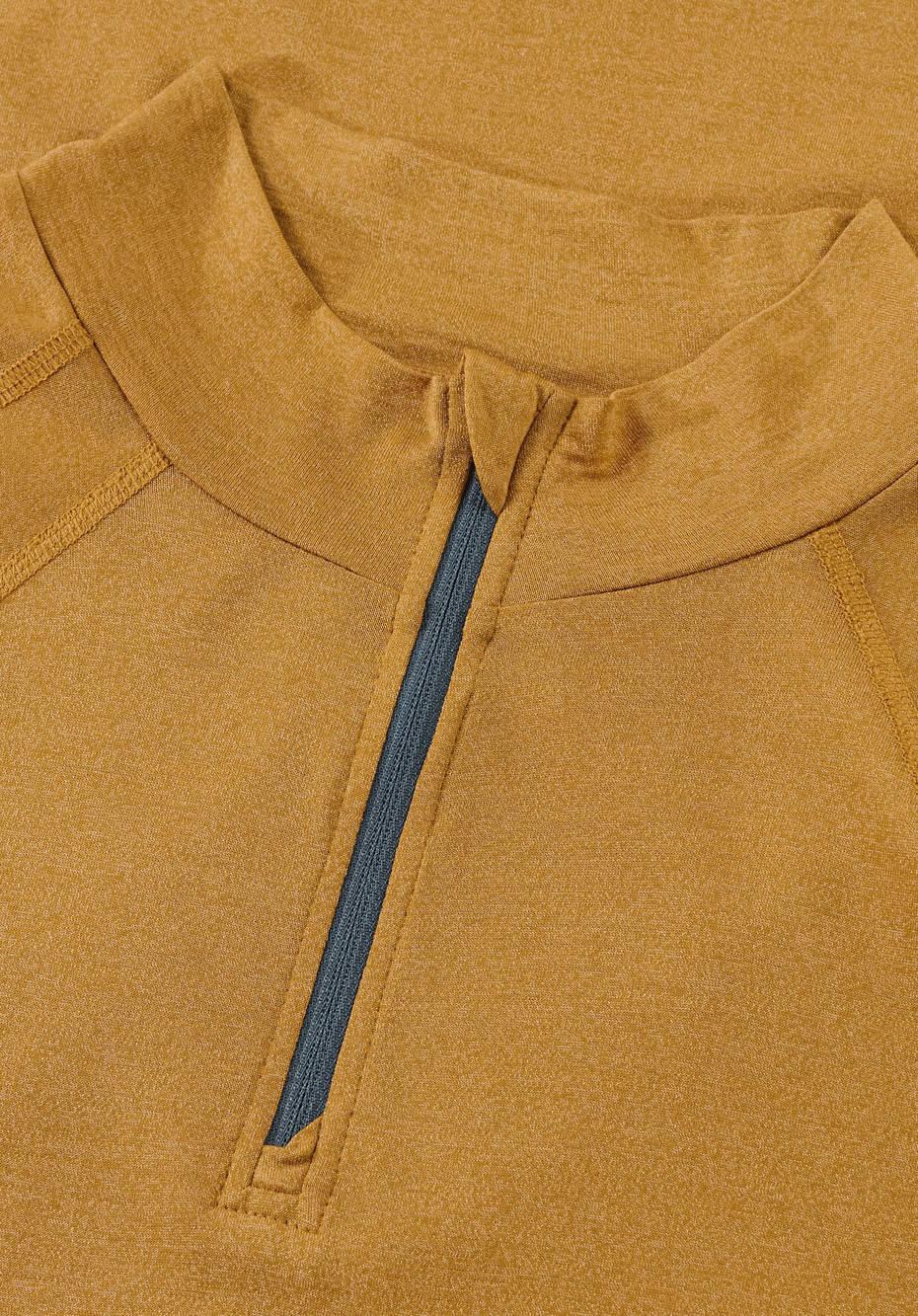 Funktionsshirt aus Bio-Merinowolle mit Seide