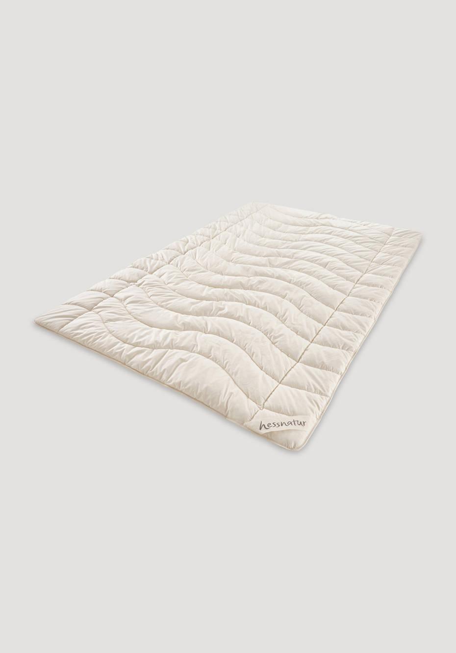 Ganzjahres-Decke Kapok mit Bio-Baumwolle