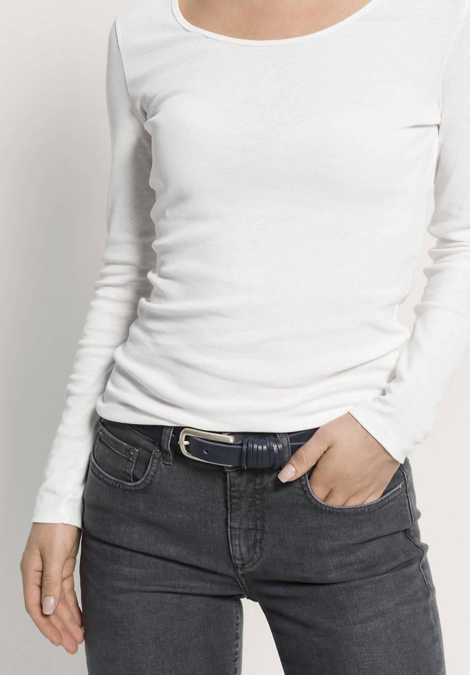 Gürtel aus chromfreiem Leder