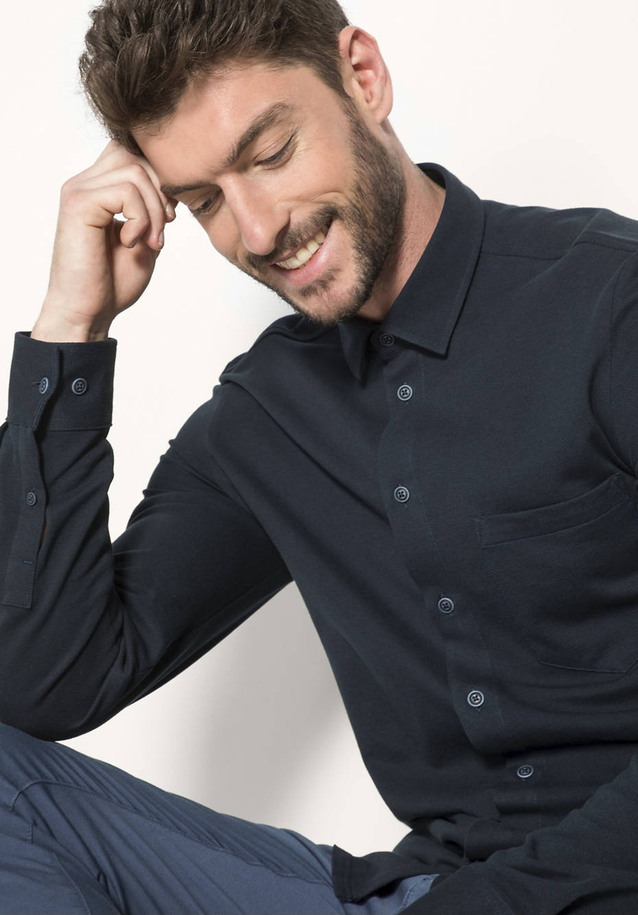 Hemd aus reiner Bio-Baumwolle