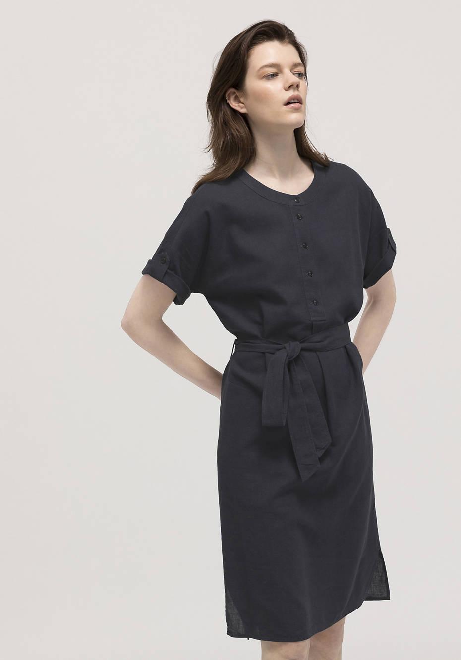 Hemp dress with organic cotton