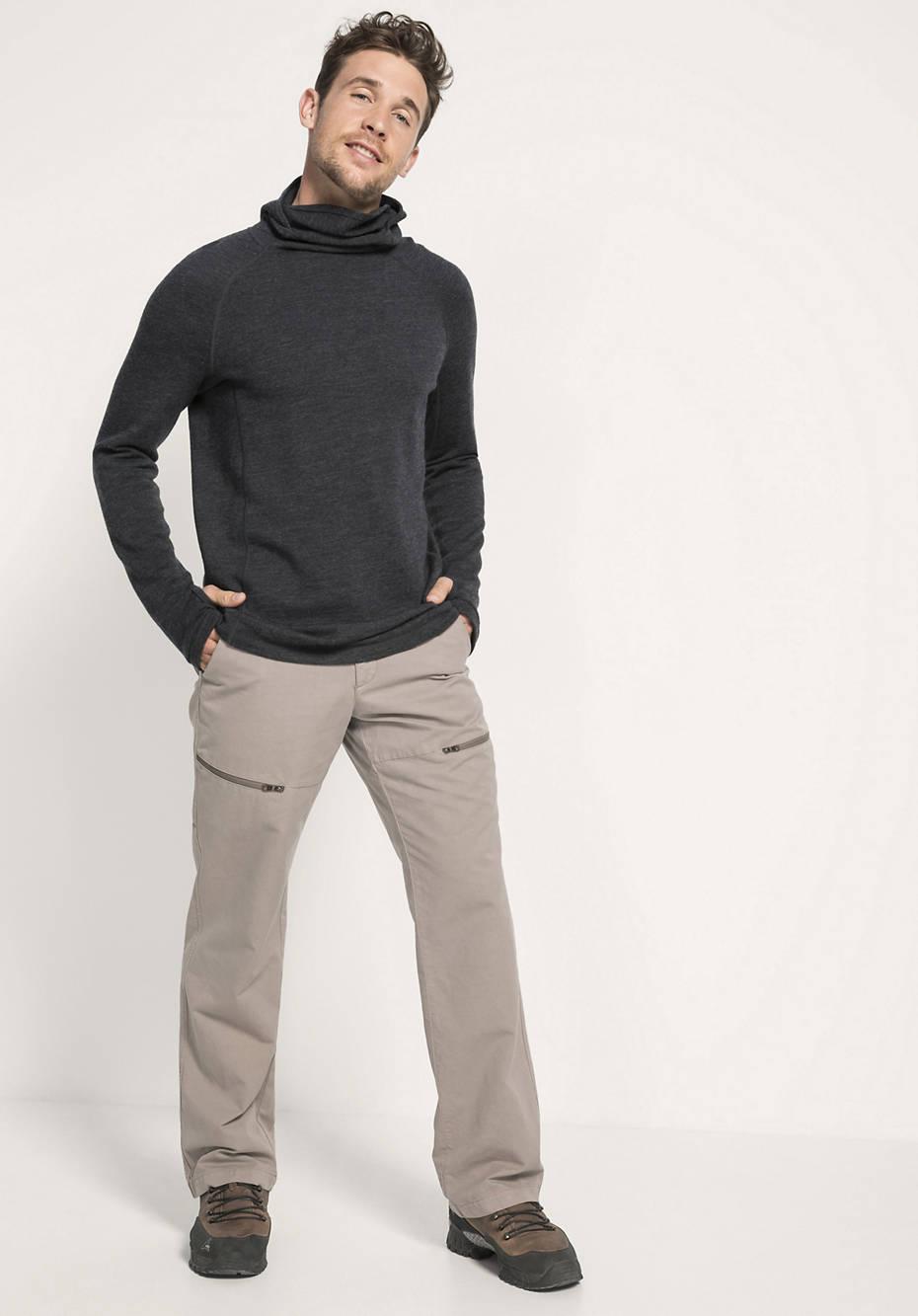 Herren Cargohose aus Bio-Baumwolle mit Hanf