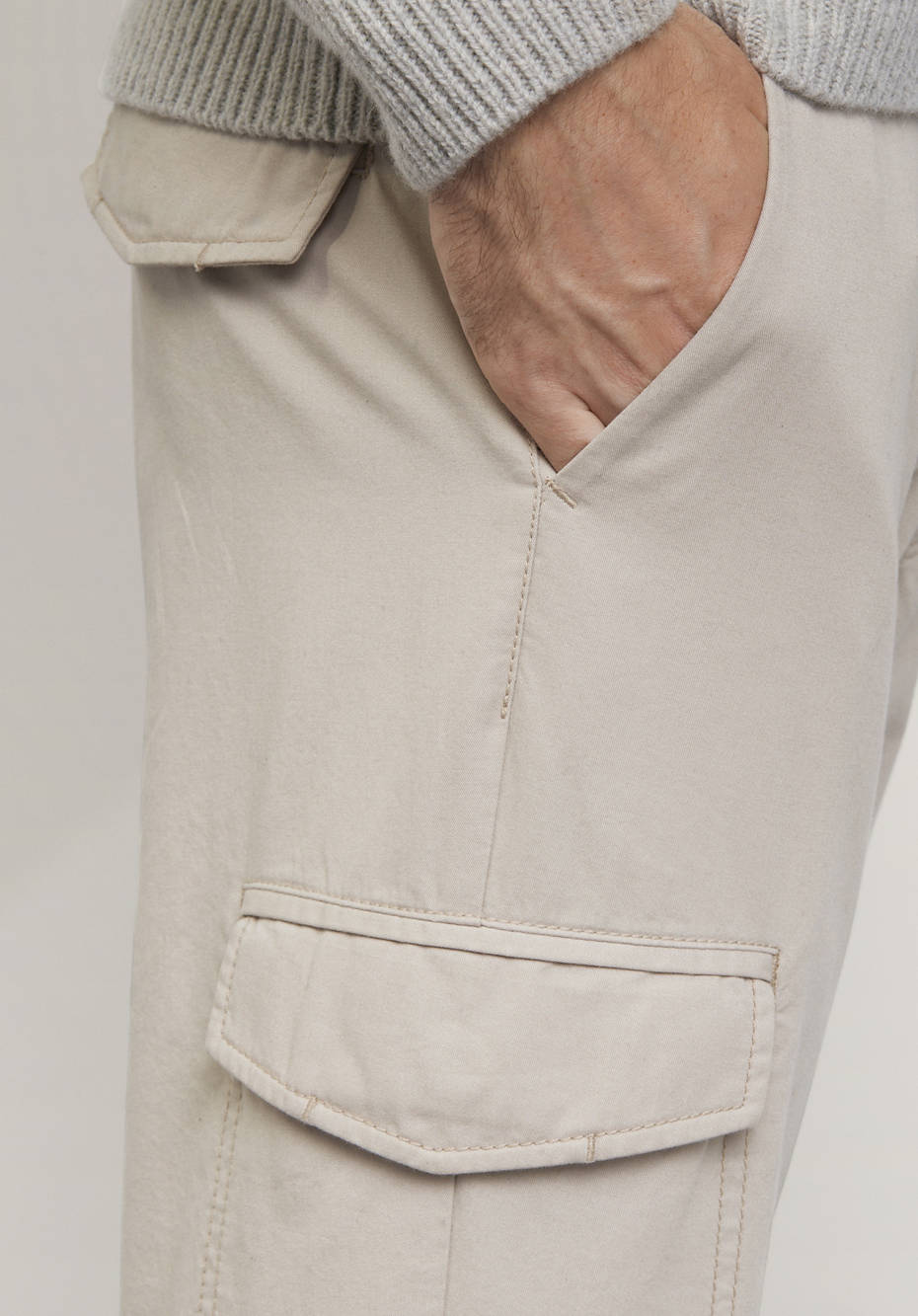 Herren Cargohose aus reiner Bio-Baumwolle
